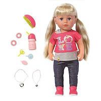 Кукла BABY BORN - СТАРШАЯ СЕСТРЁНКА для детей от 3 лет (43 см, с аксессуарами) ТМ Zapf 820704