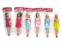"Кукла ""Красивая девушка""   (арт. 2218-17) 6-12 видов,29см,пластик,пакет,11.5x29.5x3cm"