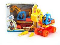 Конструктор эскаватор   (арт. 2013D) для малышей,пластик,коробка,20x9x18cm