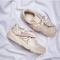 Кроссовки Fenty By Rihanna Bow Sneaker Beige женские
