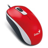 Мышь genius dx-110 usb, red