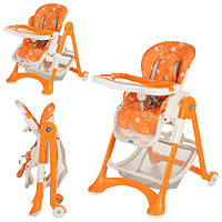 Детский стульчик для кормления BAMBI, складной, код M 2430-7
