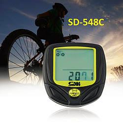 Беспроводной велокомпьютер SunDing SD-548С