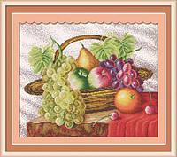 "Натюрморт ""Корзина з фруктами"" 60х51см 11СТ"