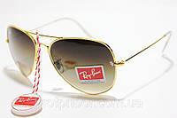 Солнцезащитные очки Ray Ban Aviator Стекло, капли ( Рей Бен Авиатор ), Киев