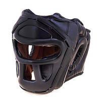Шлем для единоборств с пластиковой маской PVC EVERLAST EV-5010BL