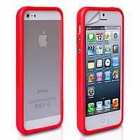 Красный бампер для iPhone 4G, 4S