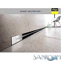 Viega Advantix Vario 736552 трап для монтажа в стену с дизайн вставкой глянцевой  736575