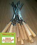 Шампура с деревянной ручкой + чехол, фото 5