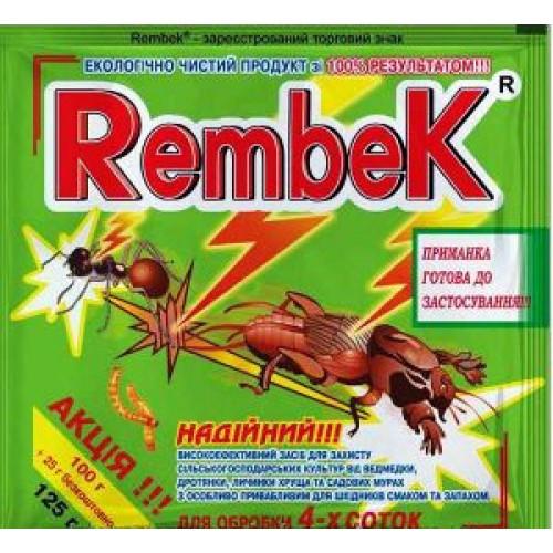Средство Рембек 300грм (от медведки,хруща,проволочника,майского жука)