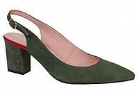Босоножки зеленые Лидер 3039.57