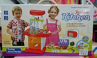 Детская музыкальная кухня с посудой  662а