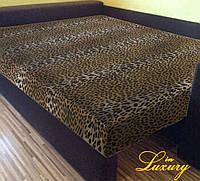 """Простынь на резинке """"Леопард"""" 160х200х20"""