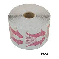 Форма для наращивания ногтей бабочка цветная, форма YRE FT-04, материалы для маникюра