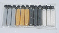 Набор микро-блестки 4цв в пробирке NMB-04 YRE