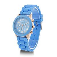 Женские наручные силиконовые часы Geneva, Женева