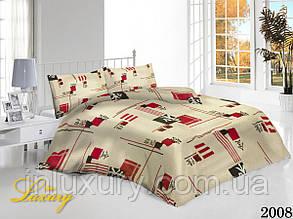 Полуторный комплект постельного белья Иероглифы