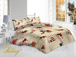Двуспальный комплект постельного белья Иероглифы