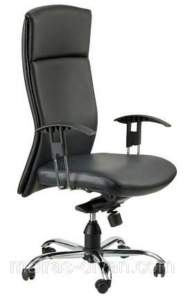 Кресло Чикаго HB кожа Люкс двухсторонняя (J-9047 Leather Black), фото 2