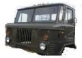 Кабина ГАЗ-66 снятая