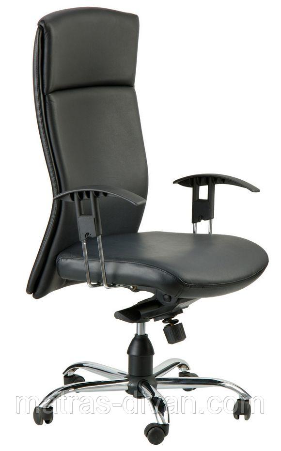 Кресло Чикаго HB кожа Люкс двухсторонняя (J-9047 Leather Black).