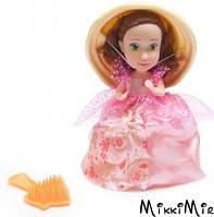 """Лялька серії """"Ароматні капкейки"""" S2 (12 видів в асорт., у дисплеї) CUPCAKE SURPRISE, бежевая с розово-желтой спиралью, Розовый"""