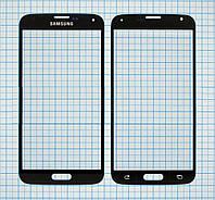 Стекло корпуса для Samsung G900 Galaxy S5 Black original