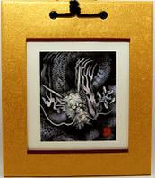 Японская картина «Дракон»