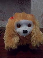 Іграшка песик гавкающая довга шерсть, фото 1