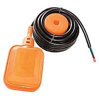 Выключатель поплавковый универсальный кабель 3м?0.75мм? с балластом Wetron