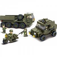 Игровой набор конструктор Сервисные войска