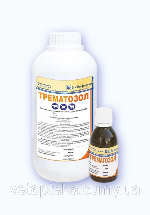 Трематозол эмульсия 1 л противопаразитарный ветеринарный препарат