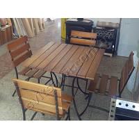 Набор садовой кованной мебели Пал