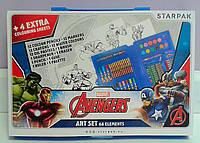 Канцелярский набор Marvel 68 предметов 275566 Starpak Польша