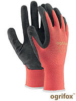 Рабочие перчатки полиэсетровые с латексным покрытием, 7-10 размеры, Польша