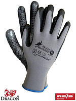 Рабочие перчатки из нейлона и лайкры, 7-10 размеры, Польша