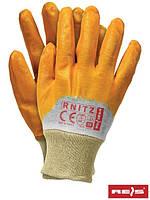 Рабочие перчатки нитриловые, 7-10 размеры, Польша