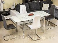 Стеклянный стол раскладной Signal GD-020, фото 1