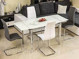 Стеклянный стол раскладной Signal GD-020