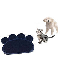 Коврик для домашних животных (собак, кошек) Paw Print Litter Mat