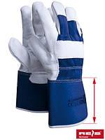 Перчатки рабочие кожаные для защиты рук