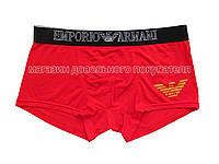 Emporio Armani (EA) мужские трусы боксёры модал красные