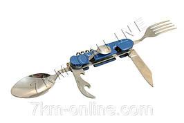 Нож многофункциональный L48 синий