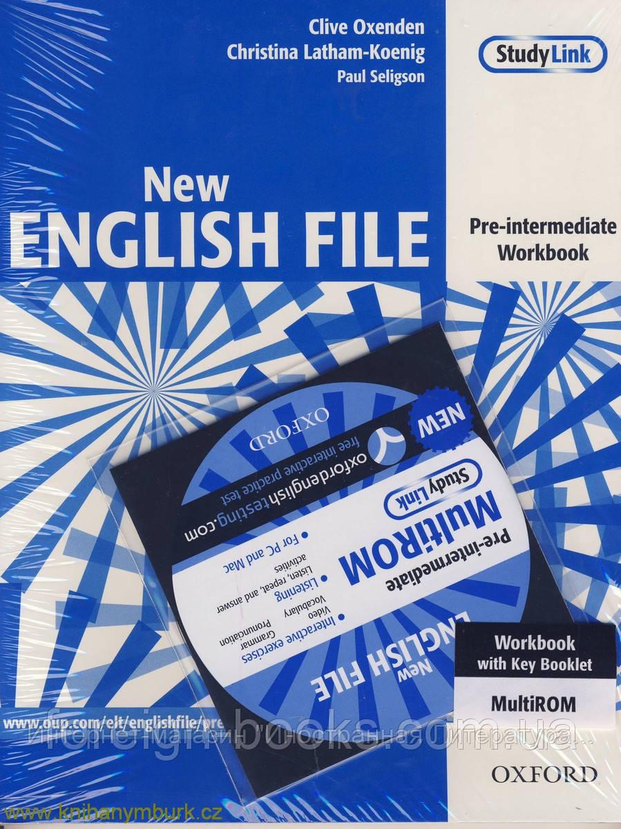 ответы new english file pre-intermediate
