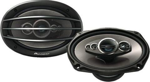 Автомобильная акустика Pioneer TS-A6994R, 5 полос, 300Вт, 15x23 см