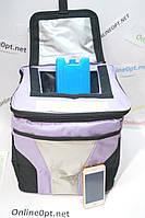 Сумка - холодильник на 10л с батареей холода 379mod с верхним открытием и на змейке