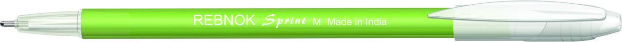 Кулькова ручка Rebnok, Sprint, 0.7 мм, зелений