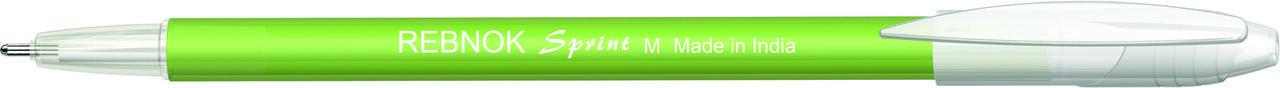 Кулькова ручка Rebnok, Sprint, 0.7 мм, зелений, фото 2