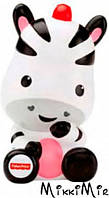 Игрушка для купания Животные-Брызгалки, зебра, Fisher-Price, зебра, Белый