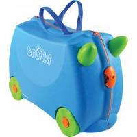 Детский дорожный чемоданчик Trunki Terrance (B054) (0054-GB01-UKV)